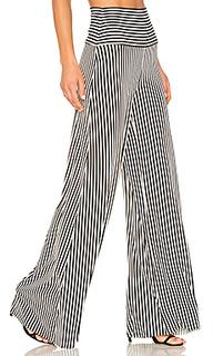 Vertical stripe elephant pant - Norma Kamali