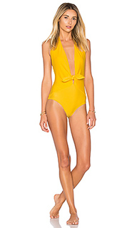 Tropical leaves knot one piece - ADRIANA DEGREAS
