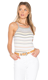 X revolve bib stripe crop top - Autumn Cashmere