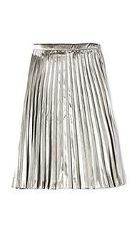 Metallic pleated skirt - Bardot Junior