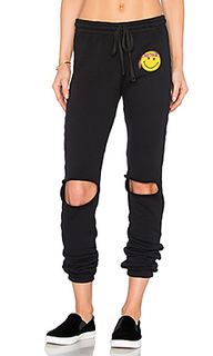 Sherri happy hippie patch sweatpant - Lauren Moshi