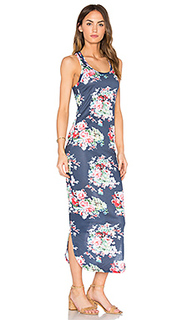 Миди платье с угловыми шлейками сзади sophia - C&C California