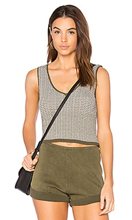 Stripe mini crop tank - Callahan