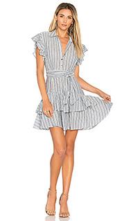 Платье в полоску - Rebecca Taylor