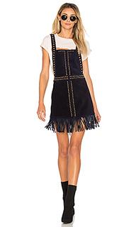 Платье с передником hold your horses - Understated Leather