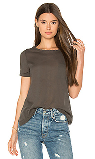 Distressed pocket tee - Autumn Cashmere