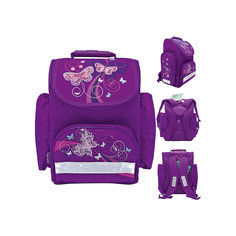 Ранец школьный JOY COLLECTION Butterfly Tiger Family