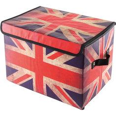 """Кофр складной для хранения 39*26*26 см. """"Британский флаг"""", EL Casa"""