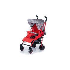 Коляска-трость BabyHit Handy, серый/красный