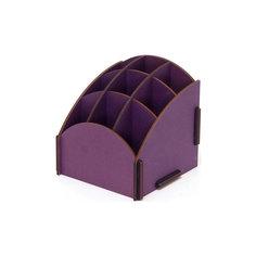Органайзер на стол 9 ячеек фиолетовый, Homsu