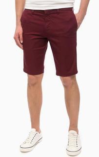Классические бордовые шорты Carhartt WIP