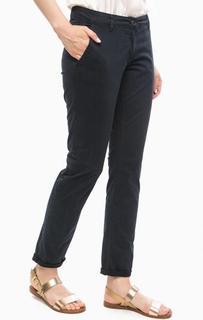 Синие брюки чиносы More & More