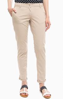 Бежевые брюки чиносы More & More