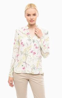 Блуза на пуговицах с длинными рукавами More & More