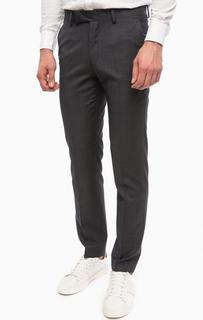Классические зауженные брюки из шерсти Lagerfeld