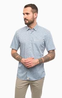 Хлопковая рубашка с карманом Pierre Cardin