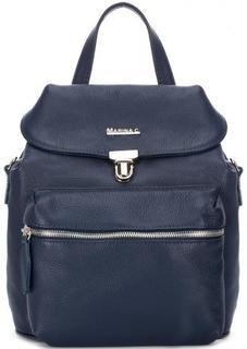 Кожаная сумка-рюкзак с одним отделом Marina C.