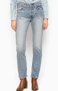 Рваные джинсы с высокой посадкой D&S Ralph Lauren