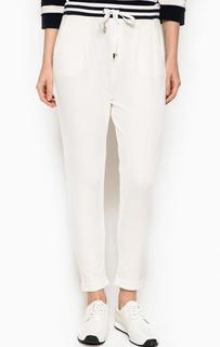 Укороченные белые брюки Liu Jo Sport