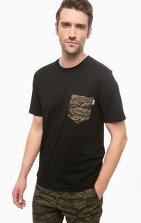 Черная футболка из хлопка с карманом Carhartt WIP