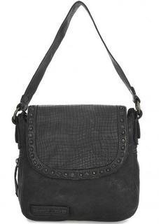Маленькая кожаная сумка через плечо Taschendieb