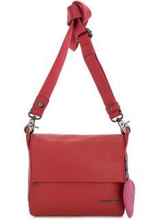 Маленькая красная сумка через плечо Mandarina Duck