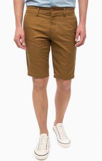 Классические коричневые шорты Carhartt WIP
