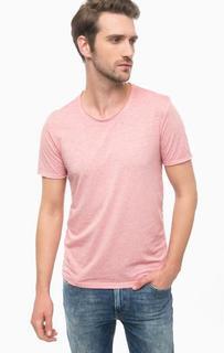 Розовая футболка с короткими рукавами Mavi