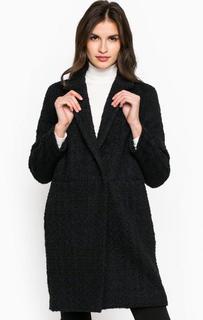 Пальто из шерсти с застежкой на кнопки Marina Yachting