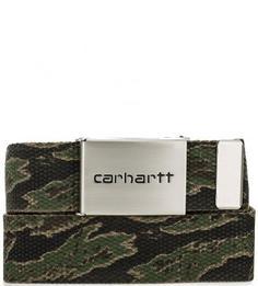 Текстильный ремень с камуфляжным принтом Carhartt WIP