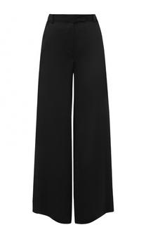 Широкие брюки с завышенной талией и карманами Valentino