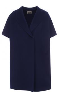 Пальто свободного кроя с укороченным рукавом Armani Collezioni