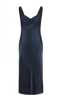 Платье-миди с разрезами Helmut Lang