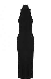 Приталенное платье без рукавов с воротником аскот By Malene Birger
