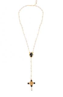 Подвеска с кристаллами Swarovski Dolce & Gabbana