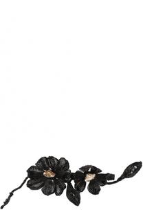 Заколка цветочным декором Colette Malouf