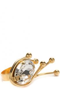 Кольцо с кристаллом Marni