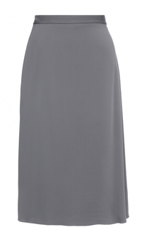 Юбка асимметричного кроя с запахом Balenciaga