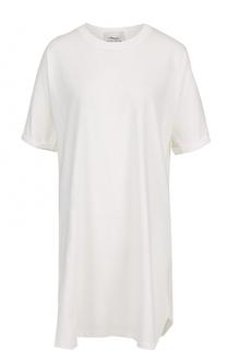 Мини-платье с шелковой вставкой на спинке 3.1 Phillip Lim