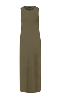 Платье прямого кроя с высокими разрезами Polo Ralph Lauren
