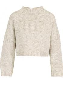 Укороченный пуловер с круглым вырезом J.W. Anderson