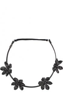 Повязка для волос с цветочным декором Colette Malouf