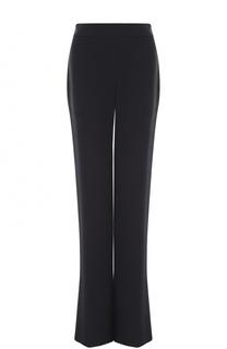 Шелковые расклешенные брюки с широким поясом Giorgio Armani