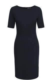Приталенное платье с коротким рукавом Armani Collezioni