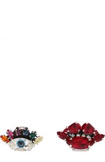 Серьги с кристаллами Swarovski Anton Heunis