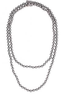Колье с жемчужинами и кристаллами Swarovski St. John