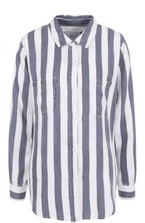 Блуза в полоску с накладными карманами Rails