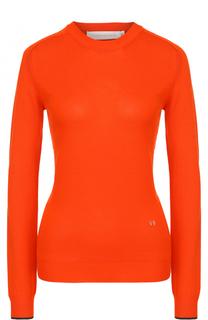 Облегающий пуловер с круглым вырезом Victoria Beckham