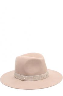Фетровая шляпа с декорированной повязкой Inverni