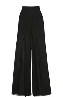Полупрозрачные широкие брюки Balmain
